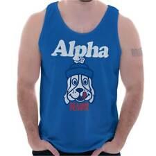 Licensed Alpha Dog Slush Puppie Retro 80s Adult Tank Top T-Shirt Tees Tshirt