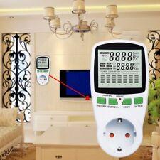 UK/US/EU/AU Plug Electricity Power Consumption Meter Energy Monitor Watt Kwh