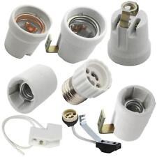 Douille céramique porcelaine filetage intérieur POUR LAMPE LED E27 E14 CINTRE