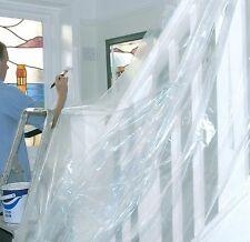 Grandi POLITENE polvere FOGLI FOGLIO Copertura Pittura Decorazione Plastica scala fai da te