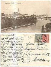 bella cartolina di cassano d' adda 1920 antica vedi