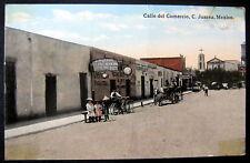 Mexico~1915 Juarez ~ Calle del Comercio