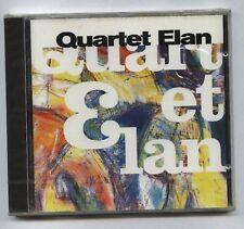 QUARTET ELAN Live FRENCH jazz CD SARAVAH (1997) - Sealed!