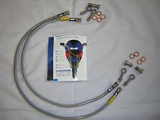 Kawasaki ZZR600 D1-E12H  Goodridge Front Brake Line Kit
