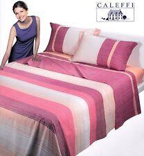 Completo letto, Lenzuola in Puro Cotone. CALEFFI GLAMOUR, MAX. 1 piazza e mezza.
