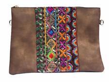 Pochette à Maquillage, sac à main avec bandoulière et décoration Fait Main