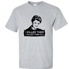 Murder She Wrote T Shirt Jessica Fletcher Tee Fan T-Shirt 4 COLORS