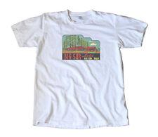 Big Sur Lodge California Vintage Travel Decal T-Shirt