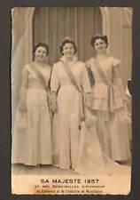 MONTCHANIN (71) ROSIERE & Demoiselles d'honneur en 1957