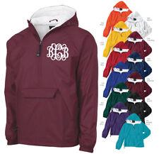 91715418b53 Monogrammed Half Zip Rain Jacket By Charles River