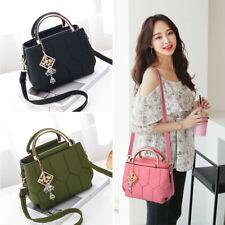 Women Faux Leather Handbags Shoulder Messenger Satchel Crossbody Tote Bags Purse