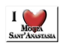 CALAMITA SICILIA FRIDGE MAGNET MAGNETE SOUVENIR LOVE MOTTA SANT'ANASTASIA (CT)