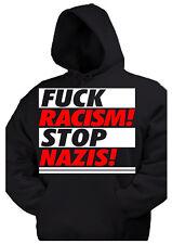 FCK NZS kapu Pullover Anti Nazi Oi GNWP Punk AFA Gegen Nazis fuck HC Skin Ska