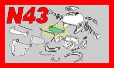 VISIERINA INTERNA SMOKE  per NOLAN N43 E   N43 AIR  N43 CLASSIC