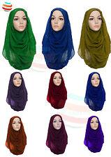Womens Glitter scarf Sparkle Shimmer Style Hijab Maxi Scarf Viscose Shiney