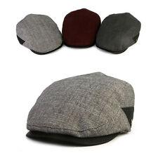 Unisex Mens XL 2XL 61~63Cm Dress Suit Mqum Flat Cap Newsboy Cabbie Driver Hats