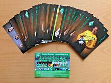 SV Werder Bremen Autogrammkarte 2009-10 original signiert 1 AK aussuchen