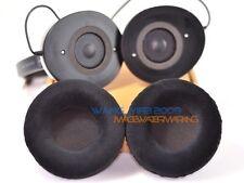 Soft Velour Replacement Ear Pads Cushion For Creative Aurvana Live Headphones