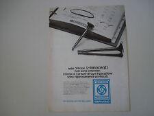 advertising Pubblicità 1975 SERVIZIO LEYLAND INNOCENTI