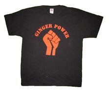 Ginger Power Men's Funny Slogan T-Shirt Cotton Dad Joke Gift Present Christmas