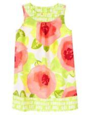 NWT Gymboree Green Floral Dress Girl Desert Dreams 4 6 7 Girls