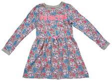 Filles Disney Princesse Belle Aurore Robe Manches Longues Gris 12 Mois à 8 Ans