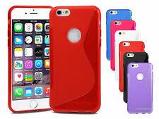Apple iPhone 6 Plus, 6S plus Silicone Gel S Ligne Étui + Protection écran