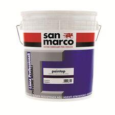 PAINTOP pittura al quarzo Anti alga SAN MARCO 4 litri