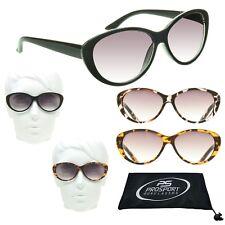 a9ba4b7be2be Cat Eye Womens Full Lens Tinted Reading Sunglasses Sun Reader Glasses 1.0 -  3.5