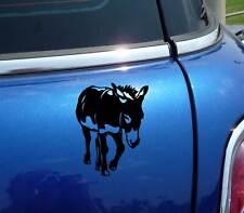 DONKEY MULE BODY FUNNY DECAL STICKER ART CAR WALL DECOR