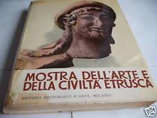Mostra dell'arte e della civiltà etrusca,1955  silvana