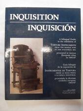 HELD R.  INQUISITION - INQUISICION  ED.QUA D'ARNO 1985