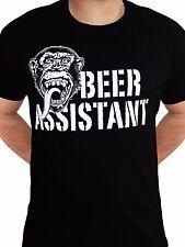 Gas Monkey Garage Beer Assistant Custom Motors Fast N Loud Black Mens Tshirt