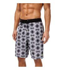 Speedo Mens Geo Diamond E-Board Swim Bottom Board Shorts