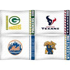 Sports Team Microfiber Pillowcase - Logo Pillow Cover Bedding Bedroom Accessory