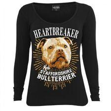 Frauen Langarm Shirt Staffordshire Bullterrier dogs stafford listenhunde rasse