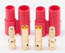 Super Tigre 3.5MM Bullet Connector Plug & Housing Set for Lipo ESC - SUPM0001
