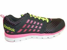 Reebok Z Dual Ride Women's Gravel / Pink / Yellow / White Mesh Running Shoes