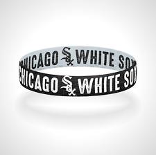 Reversible Chicago White Sox Bracelet Wristband