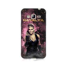 Oficial WWE Natalya Suave con Gel para teléfonos Samsung 3