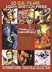 THUG CITY CHRONICLES: Franco Nero - Telly Savalas - 10 Crime Films - NEW DVD