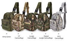 Military Sling Bag Backpack Chest Shoulder Bag Outdoor Sport Hiking Trekking Bag