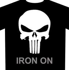 Punisher Skull Iron On Heat Transfer Vinyl Buy 2 or More 10% Off
