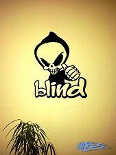 Alien blind Wandtattoo Wandaufkleber Rap Hiphop Autoaufkleber
