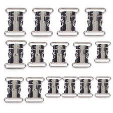 5X Steckschließe Zink Alloy Steckschnalle Metall Steckverschluss Klickverschluss