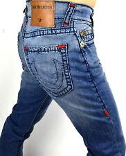 True Religion $369 Geno Relaxed Slim Multi Super T Jeans - 100589