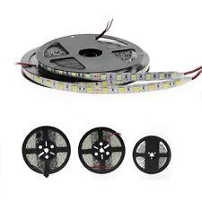 5m SMD 5050 5630 3528 LED Ruban Bande Flexible Strip RGB Blanc Chaud Froid DC12V