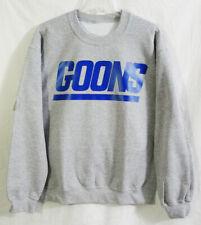 NY Giants Nike Air Jordan Retro SB inspired Heather Royal Blue Goons Sweatshirt