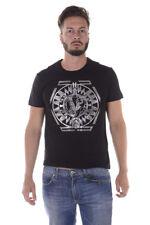 T-shirt Maglietta Versace Jeans T-Shirt Sweatshirt % Sole Uomo Nero B3GQA796-Y5D
