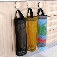 Grocery bags holder wall mount storage dispenser plastic kitchen organizer 2Y